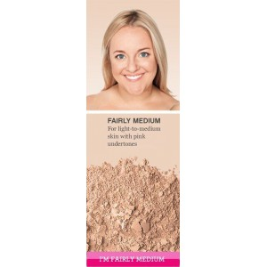 Пудра MATTE Foundation (fairly medium)