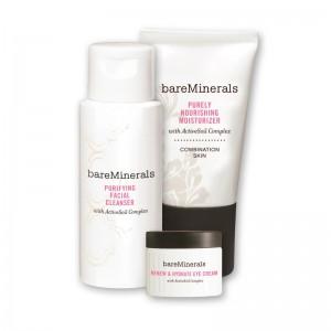 Набор для ухода за кожей bareMinerals Daily Skin Renewing Trio