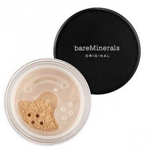 bareMinerals пудра ORIGINAL (Medium beige n20) + Кисть (Kabuki)